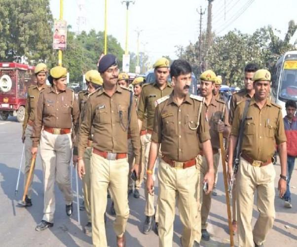 राम नगरी अयोध्या में छह दिसंबर को लेकर पुलिस की निगरानी और बढ़ गई