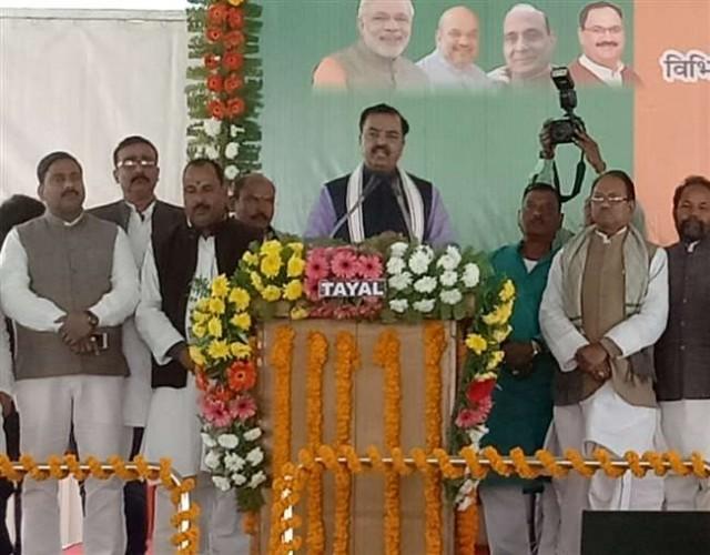 उप मुख्यमंत्री केशव प्रसाद मौर्य पहुंचे चंदौली