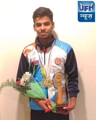 चौरीचौरा के अनुराग ने बंगलौर में जीता स्वर्ण पदक, क्षेत्र में खुशी का माहौल