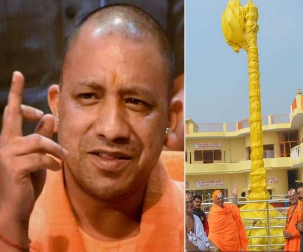 CM योगी ने MLA से वार्ता कर टटोली अयोध्या की नब्ज; 23 को स्थापित होगा विजय स्तंभ