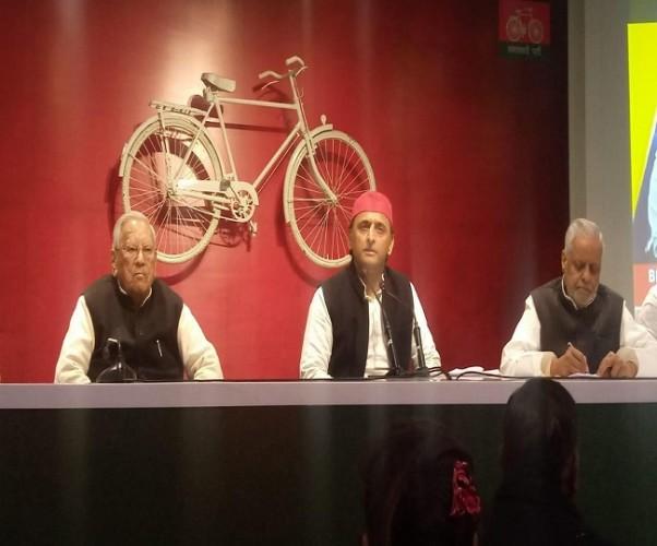 अखिलेश यादव ने कहा,लोकतंत्र के लिए खतरा बन गई है भाजपा, सरकार में भ्रष्टाचार अनियंत्रित