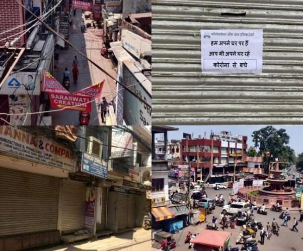 लखनऊ में बंद रहेंगे बाजार, कोरोना वायरस को रोकने के लिए व्यापारियों का समर्थन