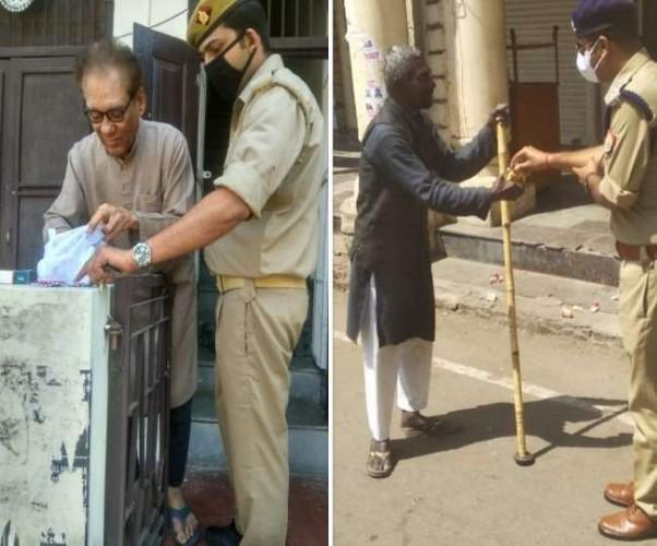 राजधानी में कहीं सख्त तो नरम नजर आई पुलिस, एक कॉल पर मिली मदद