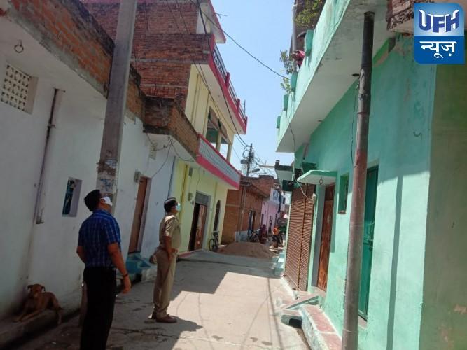 महोबा -कोरोना पाजीटिव की जानकारी मिलने पर सतर्क हुआ प्रशासन