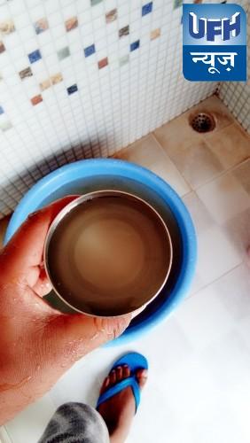 कोरोना काल में भी गंदा पानी पीने को मजबूर है पलिया वासी