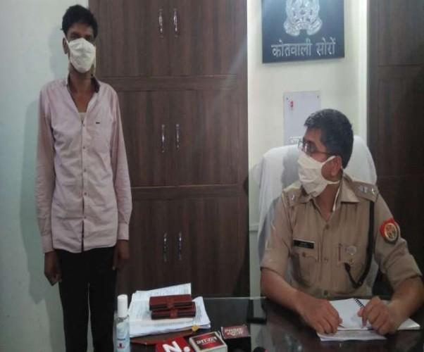 पुलिस की गिरफ्त में अनामिका शुक्ला के नाम पर फर्जीवाड़ा करने वाले नीतू का फर्जी शिक्षक भाई