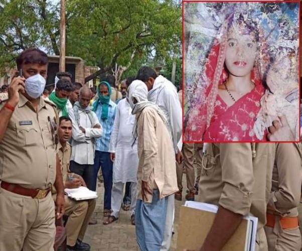लखीमपुर खीरी मे छह माह की गर्भवती पत्नी की गर्दन पर धारदार हथियार से प्रहार, एक शक पर उतारा मौत के घाट