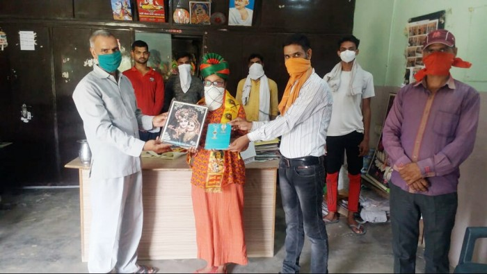 प्रेरणा सारस्वत ने किया महर्षि गौतम सीनियर सेकेंडरी स्कूल टॉप