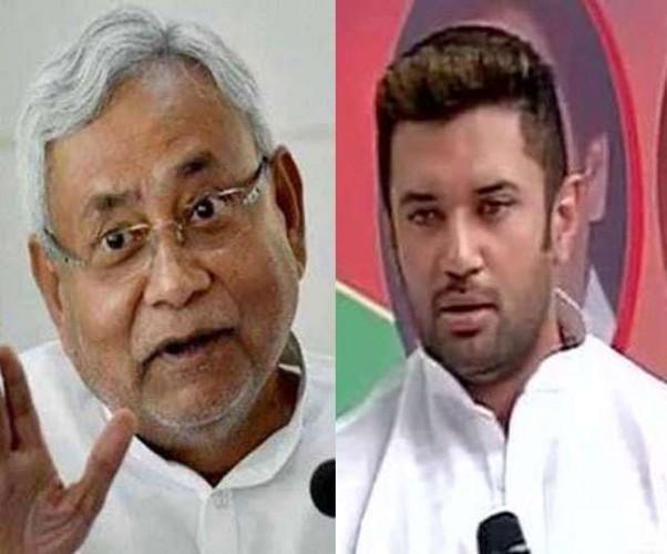 NDA में सीटों को ले LJP बनी रही दबाव, JDU की बेरुखी से भड़क रहे चिराग