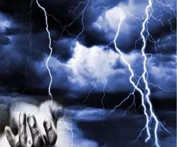 मीरजापुर, भदोही, जौनपुर व सोनभद्र में बारिश के साथ आकाशीय बिजली गिरने से 12 की मौत