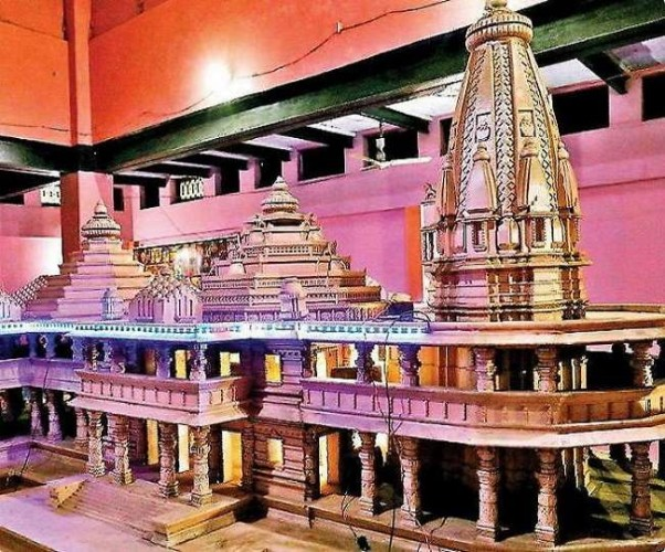 श्रीराम जन्मभूमि पर प्रस्तावित मंदिर की ऊंचाई में होगी वृद्धि