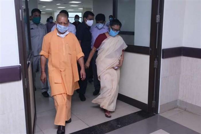 सीएम योगी आदित्यनाथ ने दिया निर्देश गोरखपुर एम्स में अब कोरोना वायरस मरीजों का इलाज होगा