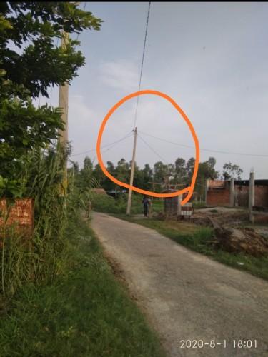 आधा दर्जन घरों में बिजली गुल संबंधित अधिकारियों की उदासीनता