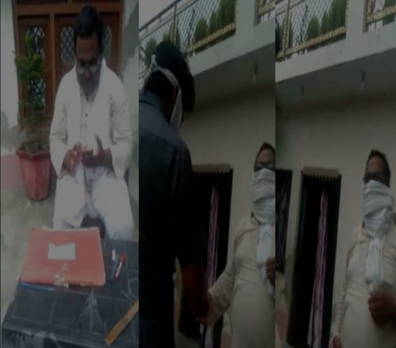 रायबरेली में लेखपाल ने किसान से ली रिश्वत,लेखपाल हुआ सस्पेंड