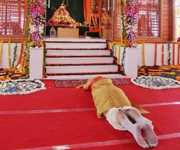 आधारशिला रखने के साथ पीएम नरेंद्र मोदी ने राम नगरी अयोध्या में रच दिया इतिहास