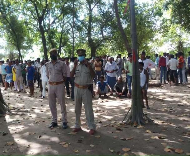 हरदोई में आश्रम में महिला समेत तीन की ईंट-पत्थर से कूचकर हत्या