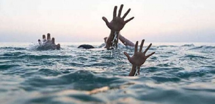 बाराबंकी मे दो बच्चों संग महिला ने शारदा नहर में लगाई छलांग,
