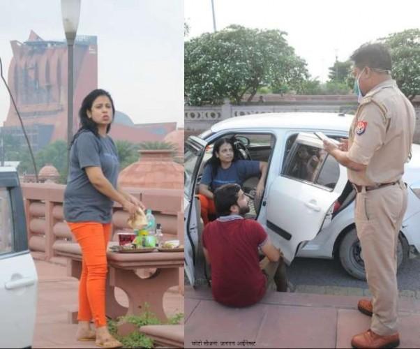 मरीन ड्राइव पर सजाई 'महफिल', हंगामे के बाद पुलिस ने किया चालान;