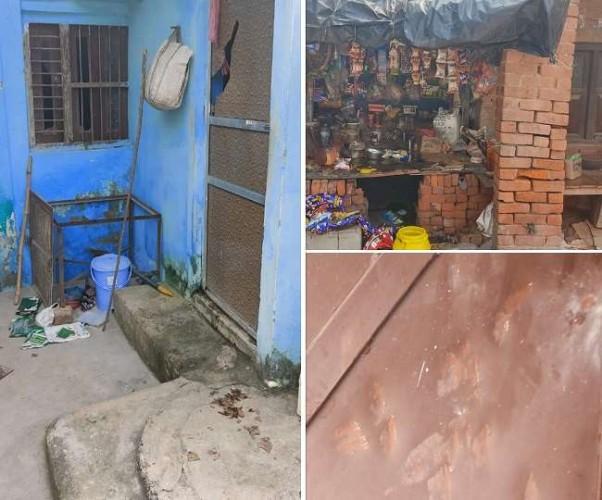 लखनऊ में भाजपा नेता के घर व दुकान पर दबंगो ने बोला धावा
