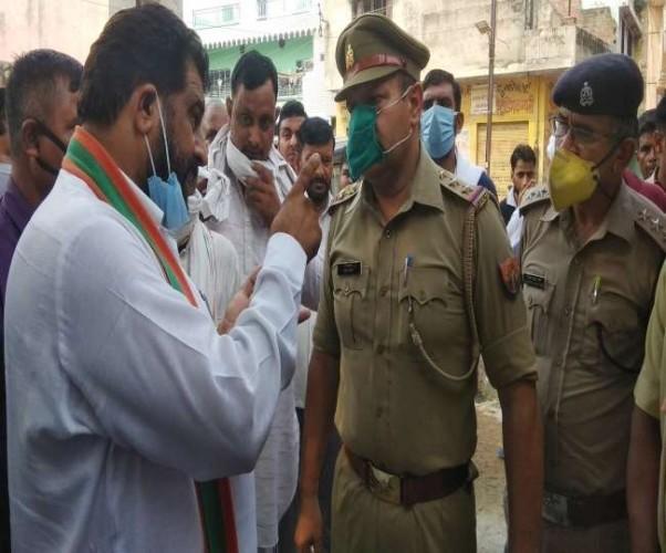 भाजपा नेता ने दी चेतावनी, कहा- दो दिन में नहीं हुई गिरफ्तारी तो शासन के खिलाफ दूंगा धरना