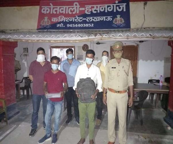 लखनऊ में दवा बिक्री के नाम पर जालसाजी करने वाले दो गिरफ्तार, सरगना समेत चार फरार