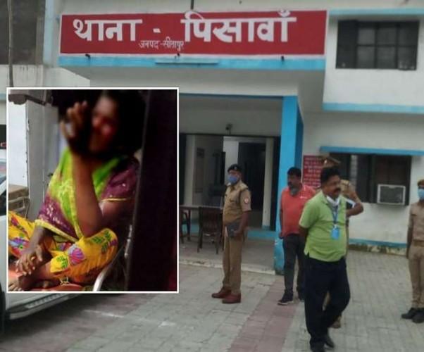 सीतापुर में बेहोश कर युवती को बाइक पर बैठाया, दोस्त को थी इलाके की पूरी जानकारी