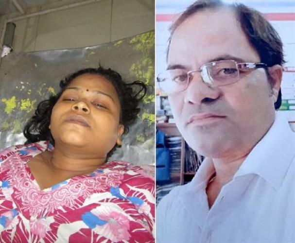 कानपुर मे पति की जुदाई बर्दाश्त न कर सकी पत्नी, पहले खाया जहर फिर काट ली हाथ की नस