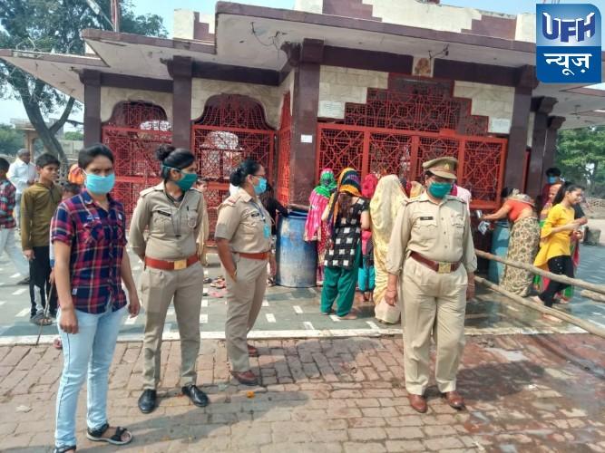 नवरात्रि के दौरान महिला सुरक्षा ,सम्मान एवं आत्मरक्षा का अभियान मिशन शक्ति चलाया गया