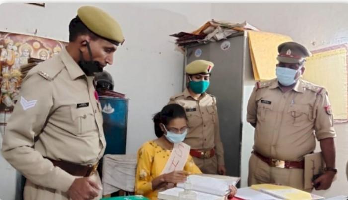 छात्रा सौम्या शर्मा बनाई गई थाना प्रभारी