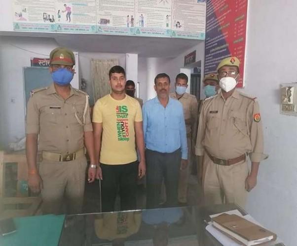 बलिया के दुर्जनपुर गोली कांड में आरोपित पक्ष से दो लोग गिरफ्तार,