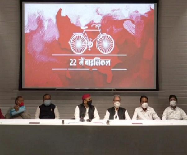 कांग्रेस तथा BSP के बड़े नेता समाजवादी पार्टी में शामिल, अखिलेश बोले-सफल होगा मिशन 2022