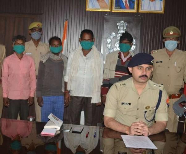 हरदोई में वर्चस्व कायम करने के लिए की थी किशोर की निर्मम हत्या, चार गिरफ्तार