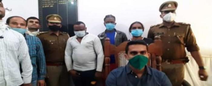 अलीगढ़ में विदेशी गिफ्ट का लालच देकर करते थे ऑनलाइन ठगी, नाइजीरियन सरगना समेत तीन दबोचे