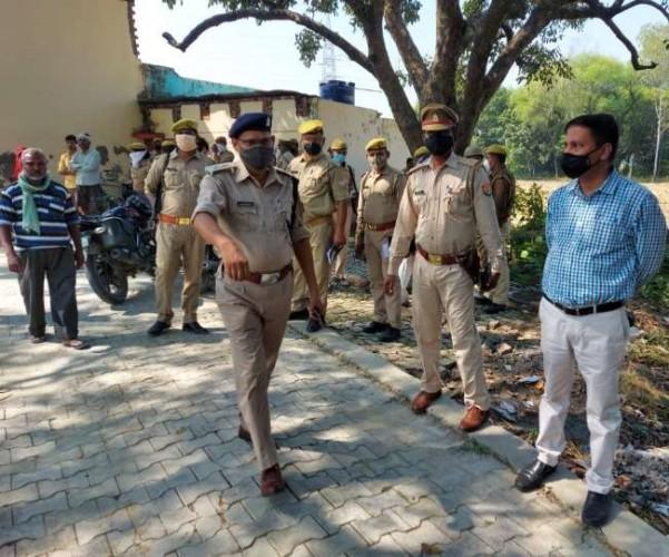 अमेठी में प्रधानपति की जलाकर हत्या, गांव में तनाव; एक नाबालिग समेत तीन गिरफ्तार