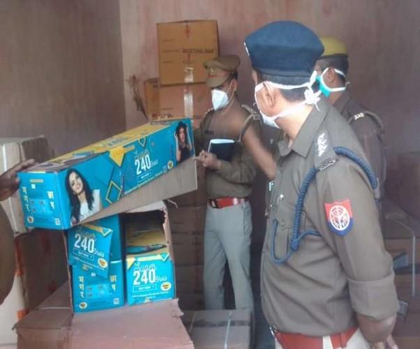 बारूद के ढेर पर रायबरेली शहर, 50 क्विंटल और पटाखा बरामद