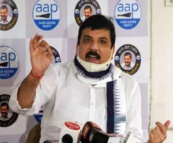 आप नेता संजय सिंह का यूपी में कोरोना टेस्ट में धांधली का आरोप, बोले- फर्जी जांच का चल रहा खेल