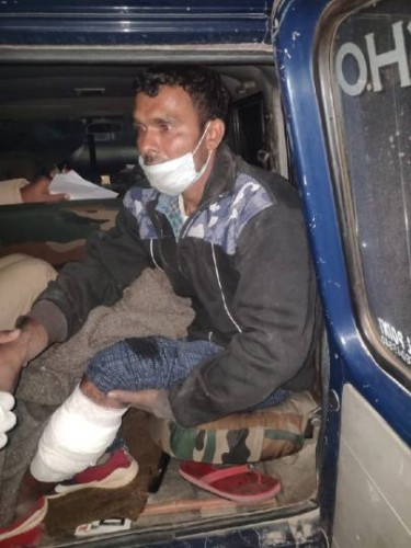 मुठभेड़ में दबोचा गुड़ व्यापारी पर हमले का दूसरा आरोपित