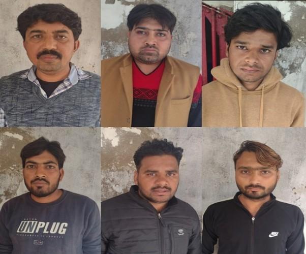 कानपुर में खनन माफिया ने साथियों के साथ डीएफसीसी सुपरवाइजर पर चलाई गोली, छह हमलावर पुलिस की गिरफ्त में