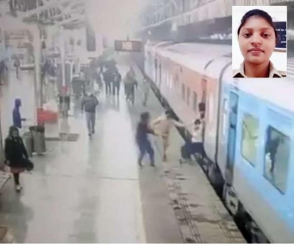 लखनऊ के चारबाग स्टेशन पर बड़ा हादसा टला, महिला RPF कर्मी की तत्परता से बची जान