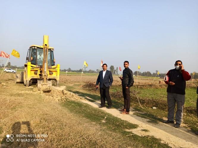 प्रशासन ने करोड़ों रुपए की भूमि अवैध कब्जे से कराया मुक्त