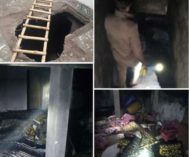 लखनऊ में मकान के बेसमेंट में चल रहे अवैध टेंट गोदाम में लगी भीषण आग, दो बच्चे जिंदा जले