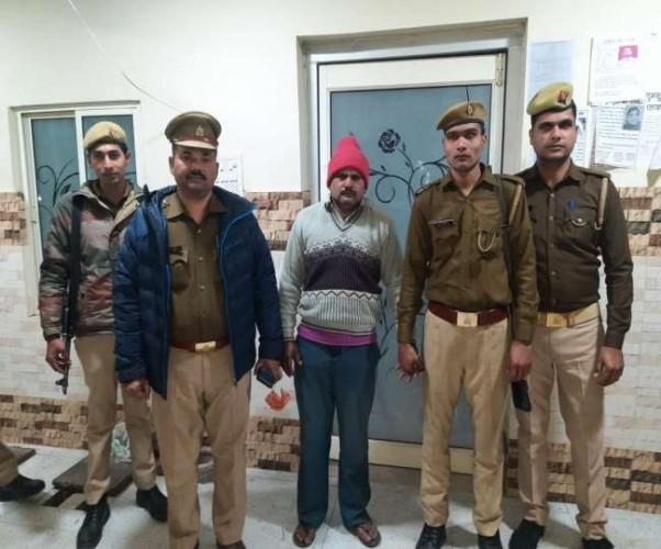 बरेली सेंट्रल जेल से फरार कैदी बिजनौर में गिरफ्तार