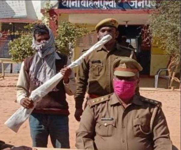चित्रकूट पुलिस की बड़ी कामयाबी, इनामी हिस्ट्रीशीटर गिरफ्तार