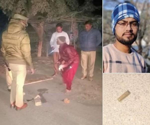 लखनऊ में शराब के ठेके के पास युवक की गोली मारकर हत्या
