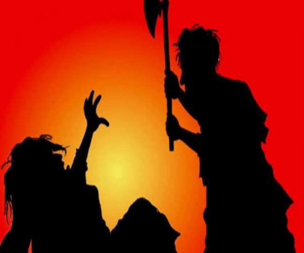 कानपुर के सचेंडी में कुल्हाड़ी से हमला कर युवक की हत्या