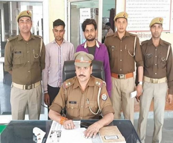 हैदर की हत्या के आरोपित दोनों भाइयों को पुलिस ने किया गिरफ्तार