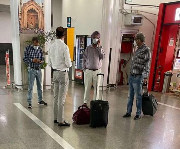 लखनऊ आए पंजाब के जेल मंत्री रंधावा, मुख्तार कनेक्शन को लेकर शुरू सियासी संग्राम