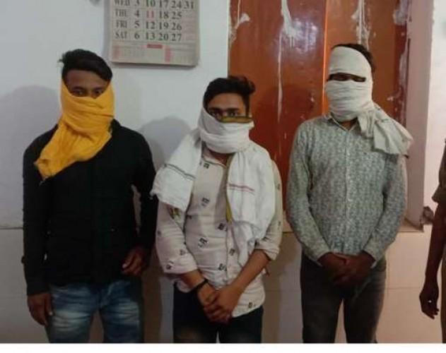 लंका पुलिस ने शातिर बदमाशों को पकड़ा
