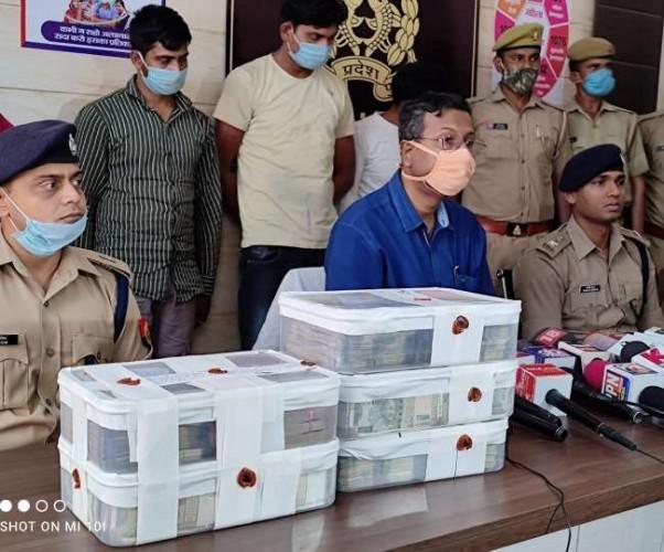 लखनऊ में रेलवे इंजीनियर के नौकर की हत्या का राजफाश, करोड़ों की नकदी समेत चार गिरफ्तार