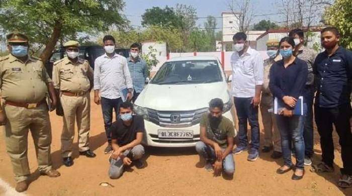 सोनभद्र में 10 किलोग्राम अफीम के साथ अंतरप्रांतीय तस्कर गिरोह के दो बदमाश गिरफ्तार